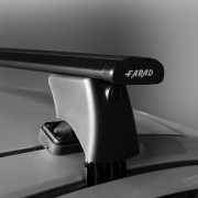 Dakdragers Nissan Pulsar 5 deurs hatchback vanaf 2014 - Farad wingbar zwart
