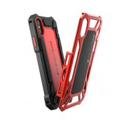 Element Coque Element Roll Cage solide pour iPhone X - Rouge