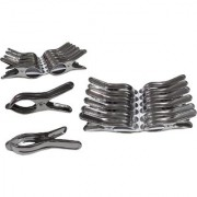 PRODUCTMINE Stainless Steel Multipurpose cloth clips (Set of 12 )