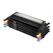 Samsung Pack 4 Toners Negro+Colores CLP 310/315 CLX 3170/3175