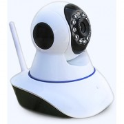 ZEMINI Wireless HD CCTV IP wifi Camera | Night vision Wifi 2 Way Audio 128 GB SD Card Support for OPPO R7