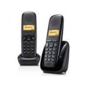 Siemens Telefon GIGASET AS150 Duo Svart