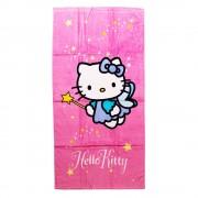 Плажна кърпа Hello Kitty 75X150 Fairy розова