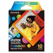 Fujifilm Instax Square Rainbow Papel Fotográfico para Cámaras Instax Square 10 Unidades