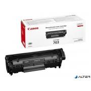 CRG-703B Lézertoner i-SENSYS LBP 2900, 3000 nyomtatókhoz, CANON, fekete, 2k