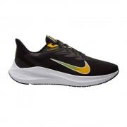 Nike Scarpe Running Zoom Winflo 7 Nero Oro Uomo EUR 44 / US 10