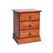 Noptiera din lemn culoare cires Boston, l48xA40xH58 cm