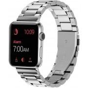 4wrist Ocelový tah pro Apple Watch - Stříbrný 42/44 mm