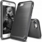 Husa iPhone 7 Ringke Onyx Mist Gray + Bonus folie protectie display Ringke