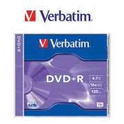 Mediu optic Verbatim 43508 16X 4.7GB Printable Surface Jewel Case