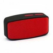 Akshar Bluetooth Speaker Portable Wireless Bass Stereo USB Fm Tf Outdoor Mini Aux Mp3 (Red) with calling facility