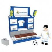Set de constructie Nanostars Real Madrid vestiar
