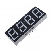 Meco 10Pcs 7-Segment 0.56 Inch 4 Digit 12 Pins Red LED Display For Arduino