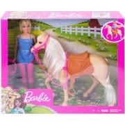 Barbie Set papusa cu cal