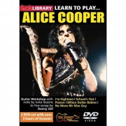 Roadrock International Lick Library: Learn To Play Alice Cooper DVD