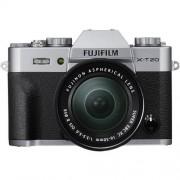 Fujifilm X-T20 + 16-50mm F/3.5-5.6 XC OIS II - Argento - MANUALE ITA - 2 Anni Di Garanzia In Italia