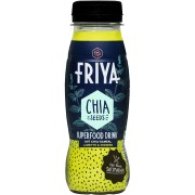 FRIYA Superfood-Drink mit Chia-Samen Limette & Ingwer - 200 ml