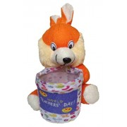 Kabir kirtika Toys' Soft Yellow Rabbit Special Teacher Teddy Bear Pen Stand Holder Adorable Gift for Your Teacher or Mentor.