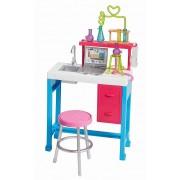 Set de joaca mobilier pentru papusa Barbie - Laboratorul de chimie
