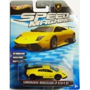 LAMBORGHINI MURCIELAGO LP 670-4 SV 2009-2010 Hot Wheels Speed Machines LAMBORGHINI MURCIELAGO LP 670-4 SV (yellow...