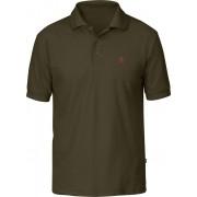 FjallRaven Crowley Pique Shirt - Dark Olive - Shirts Polo M
