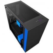 Carcasa NZXT computer case H400 Matte Black/Blue