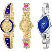TRUE CHOICE NEW BRANDED LOOK AND SUPER FATS LOOK COMBO WATCH FOR WOMEN AND GIRL WITH 6 MONTH WARRNTY
