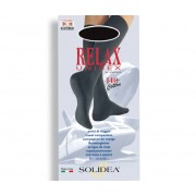 solidea relax unisex 140 denari cotton tg media colore nero