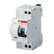 Intrerupator automat diferential 20A 1P+N 6kA 30mA ABB DS951 AC-C20/0,03A