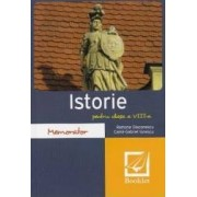 Memorator de istorie - Clasa a 8-a - Ramona Diaconescu
