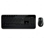 Kit Tastatura + Mouse Microsoft Desktop 2000, Wireless, Negru