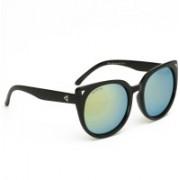 Remanika Cat-eye Sunglasses(Golden)