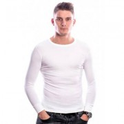 Beeren Men T-Shirt Lange Mouw Wit (3 pack)