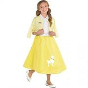 amscan Grease Summer Nights Sandy Costume Set Medium