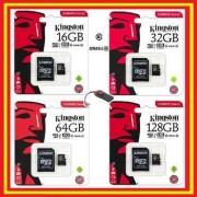 Kingston Tarjeta Micro SD Kingston Canvas - Original - Tarjetas Memory MicroSD - 16GB 32GB 64GB 128GB