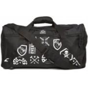 REEBOK (Expandable) Unisex Blue Motion UT Grip Printed Travel Duffel Bag(Black)