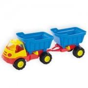 Детски камион с ремарке в кутия 10002 MOCHTOYS, 5907442100020