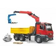 BRUDER Vrachtwagen met kraan Mercedes-Benz Arocs