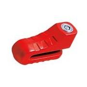 Zámek kotouč COUIMPEX 10mm červený