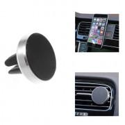 Shop4 - Telefoonhouder Auto Magnetische Autohouder Ventilatierooster Zilver
