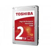 """TOSHIBA 2TB 3.5"""" SATA III 64MB 7.200rpm HDWD120EZSTA P300 series"""