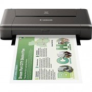 Canon PIXMA IP110 mobiele inkjetprinter (9.600 X 2.400 dpi, USB, WLAN, PIXMA Cloud-Link, Apple airprint) (zonder accu)