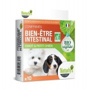 Naturly's Mini Chien/Chiot Comprimés Bien-Etre Intestinal Bio