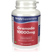 Simply Supplements Granada 10000mg - 240 Comprimidos