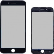 Compatibile Apple AA - Vetro completo per iPhone 7 Plus - Nero