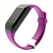 Monitor de ritmo cardiaco H3 impermeable 3ATM Bluetooth Smart Watch - Purpura