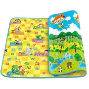 Glive's Water Resistant Kids & Baby Playing Crawl Floor Mat (Random Colour & Design ) (Large ( 120 x 180 CM ))
