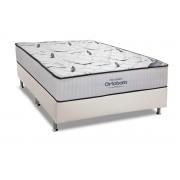 Conjunto Box-Colchão Ortobom Hight Foam+Cama Universal White - Casal 138