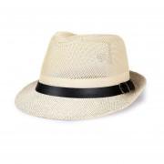 Sol de veranos para de protección solar de paja de los dede la correa de malla superior tapas Jazz 60cm de de de playa Sombrero LANG(#Beige)(#60cm)