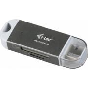 i-tec U3CRDUO-GR cititoare de carduri Gri Alb USB 3.0